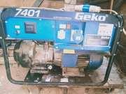 Продам электрогенератор Геко 7401,  6.5 квт